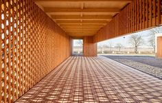 Interwoven meeting place and community - Wood Magazine