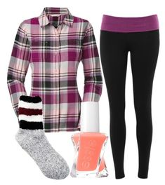 """Untitled #98"" by gogirl-i ❤ liked on Polyvore featuring The North Face, Branded Ego, Free Press and Essie"