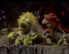 Wembley and Boober Clever Dog, Cartoon Video Games, Underground World, Fraggle Rock, The Muppet Show, Jim Henson, Big Bird, Looney Tunes, Childhood Memories