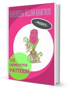 Download 10 free cross stitch patterns ebook