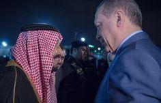 اخبار اليمن خلال ساعة - أردوغان في الرياض، والملك سلمان على رأس المستقبلين