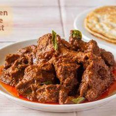 Chicken Ghee Roast-Mangalorean Culinary Gem - Kali Mirch - by Smita Indian Chicken Recipes, Indian Food Recipes, Roast Recipes, Cooking Recipes, Curry Recipes, Chicken Masala, Chicken Curry, Chicken Specials, Biryani Recipe