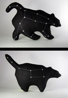constellation pillows. I see some greek mythology in my future.