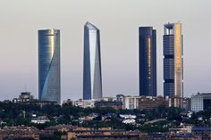 Foto Cuatro Torres Business Area de Madrid en Madrid