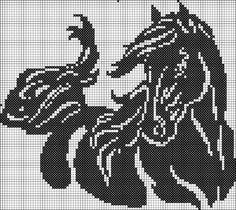 Gallery.ru / Фото #144 - Архив (18) - Olgakam Cross Stitch Horse, Beaded Cross Stitch, Cross Stitch Animals, Cross Stitch Kits, Cross Stitch Charts, Cross Stitch Patterns, Crochet Chart, Crochet Patterns, Crochet Motif