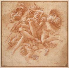 Drawing,  1519-1570   Francesco Primaticcio ...