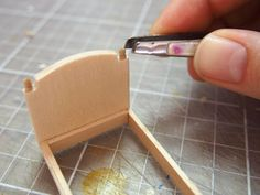 DIY Miniature Furniture How it's Made: French Century Daybed — Little Architecture Diy Doll Miniatures, Dollhouse Miniature Tutorials, Dollhouse Dolls, Miniature Dolls, Miniature Houses, Dollhouse Ideas, Victorian Dolls, Victorian Dollhouse, Modern Dollhouse