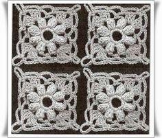 Crochet-Knitting free pattern : Motifs
