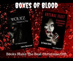 More additions to the Boxes of Blood Library Horror Books, Best Christmas Gifts, Blood, Boxes, Crates, Best Christmas Presents, Box, Cases, Boxing