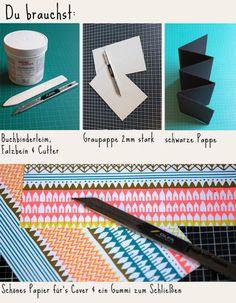 leporello tutorial flyer by julia reusch pinterest leporello kalligraphie und buchbinderei. Black Bedroom Furniture Sets. Home Design Ideas