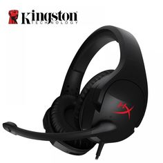 Kingston HyperX Cloud Stinger Auriculares Headphone Steelseries Gaming Headset with Microphone Mic For PC Xbox. Gaming Headset, Gaming Headphones, Mobile Price, Pc Ps4, Headphone With Mic, Game Controller, Laptop Accessories, Noise Cancelling, Kingston