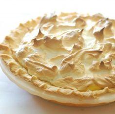 Tarta de limón con merengue sin azúcar - Dulces diabéticos | Dulces diabéticos