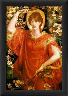 A Vision of Fiametta by Dante Gabriel Rossetti