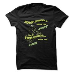 Two Wheels Move The Soul Great Motorcycle Funny T-Shirts, Hoodies. SHOPPING NOW ==► Funny Tee Shirts