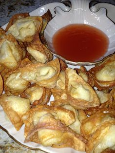 My Most Requested Recipes: Crab and Cream Cheese Won Tons