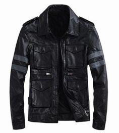 Handmade+Men+leather+Jacket+Men+biker+leather+by+WalletLeather,+$169.00 WHOA!!!!!