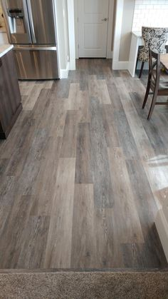 Luxury Vinyl laminate flooring You are in the right place about laminate flooring australia Here we offer you the most beautiful pictu Luxury Vinyl Tile, Luxury Vinyl Plank, Vinyl Laminate Flooring, Hardwood Floors, Grey Wood Floors, Grey Vinyl Plank Flooring, Painted Floors, Planking, Decoration Inspiration