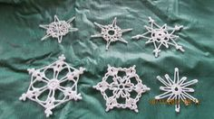 Crochet Snow Flakes