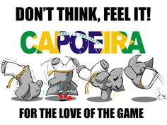 Did you know that elephants can do capoeira too?     (by Raltair)