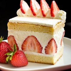 Japanese kasutera cake - This looks exactly like the cake I used to get every…