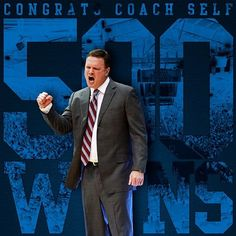 Congratulations to Coach Bill Self on his 500th coaching victory! 2/25/13 in Ames Iowa.