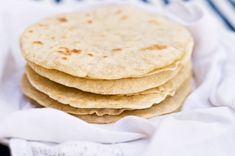 BACON Fat Flour Tortillas ~ I'll be saving all my drippings now ~ Hubster gave me tortilla press for Christmas, this is the perfect recipe to get started using it!