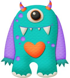 "Photo from album ""монстры"" on Yandex. Cartoon Monsters, Cute Monsters, Little Monsters, Sock Monster, Monster Party, Monster Mash, Rock Crafts, Felt Crafts, Monster Clipart"