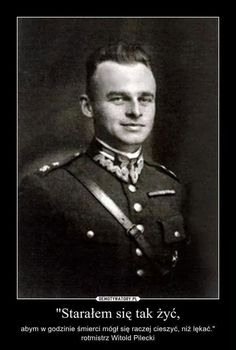 Witold Pilecki - mój krewny!