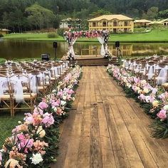 Garden Wedding Ideas Beautiful Decorations for a Fun. For casual outdoor reception seating, hay bales and mis-matche Wedding Ceremony Ideas, Romantic Wedding Receptions, Outdoor Wedding Decorations, Outdoor Wedding Venues, Romantic Weddings, Wedding Themes, Rustic Wedding, Wedding Backyard, Decor Wedding