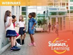 Help your school create a healthy & positive school climate with these free webinars.