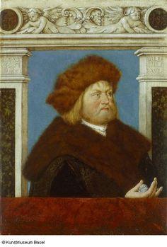 Hans Holbein der Ältere, Bildnis des Philipp Adler (Augsburg, 1513, Kunstmuseum Basel)