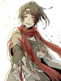 Touken Ranbu, Anime Oc, Manga Anime, Mutsunokami Yoshiyuki, Samurai, Manga Story, Ninja, Cute Profile Pictures, Handsome Anime Guys