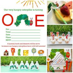 From Invites To Favor Tags, This Round Up Of Very Hungry Caterpillar Free Printables Has You Covered With So Many Cute Details! Very Hungry Caterpillar Printables, Hungry Caterpillar Invitations, Hungry Caterpillar Activities, Hungry Caterpillar Party, First Birthday Parties, First Birthdays, Birthday Ideas, Birthday Banners, Birthday Cakes