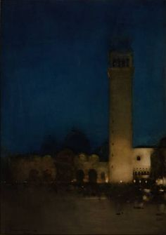 Arthur Melville / The Blue NIght, Venice