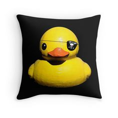 $19 Buc Duck Pittsburgh Pirates Throw Pillow