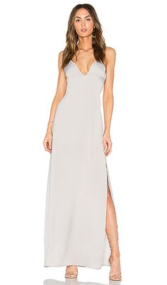 Shop for Capulet x REVOLVE Deep V Maxi Dress in Silverado at REVOLVE. Free 2-3 day shipping and returns, 30 day price match guarantee.