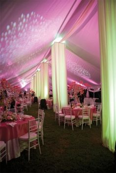 Wedding reception:  Tents and setting by Brad Dittmer of Downhome Productions Photo by Dawn Sheilds Photography