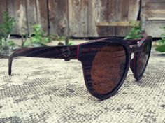 Paul Ven Fox Wooden Sunglasses Layered. Polarized by PaulVenStore