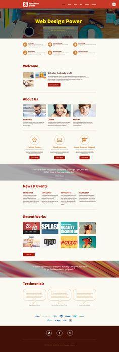 Joomla Template , Design Studio