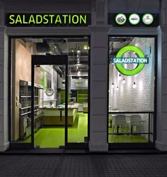 Saladstation - InteriorZine