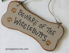 Wigglebutt - need to make this into quilted sign for garage door