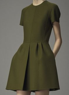 Beautiful seams, great structure. Valentino Pre-Fall 2014