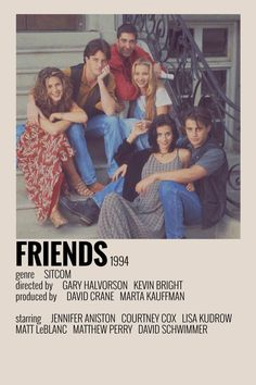 Iconic Movie Posters, Iconic Movies, Good Movies, Film Polaroid, Polaroids, Friends Poster, Friends Tv, Series Poster, Image Cinema