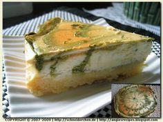 Angie's Recipes - Matcha Marbled Cheesecake