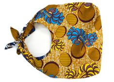 A reversible Wax bag African Love, Tumi, African Fashion, Knitting, Sewing, Fabric, Crafts, Handmade, Surplus