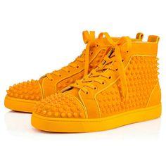abcae82c03f7 Louis Spikes Orlato Men s Flat - Red Bottom Christian Louboutin Shoes Cheap  Red Bottom Heels