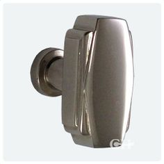 Art Deco Cupboard Door Knobs In Chrome or Nickel