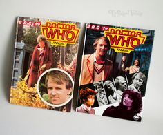 2x DOCTOR WHO Annuals 1982/83 Tom Baker Peter Davison 4th/5th Doctor by UpStagedVintage on Etsy