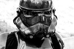 Carbon fibre Storm Trooper suit