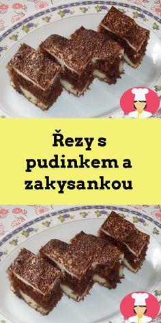 Rezy s pudinkem a zakysankou Food, Essen, Meals, Yemek, Eten